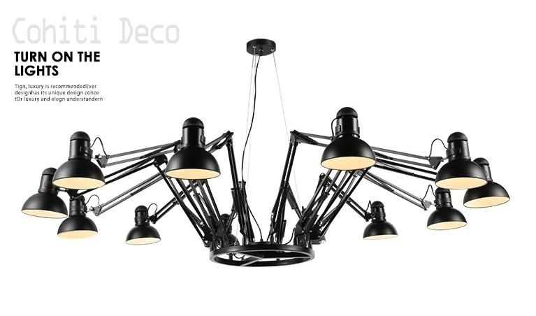 工業風蜘蛛吊燈