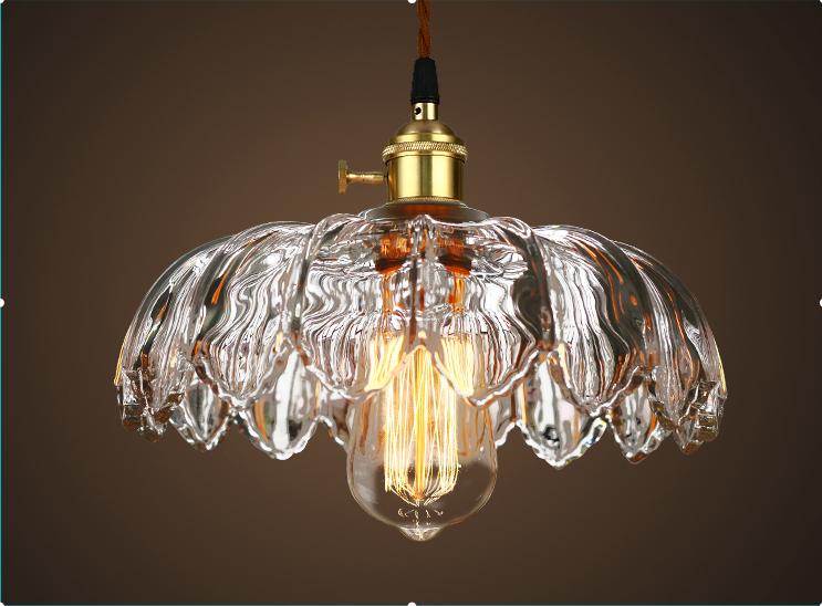 復古玻璃吊燈