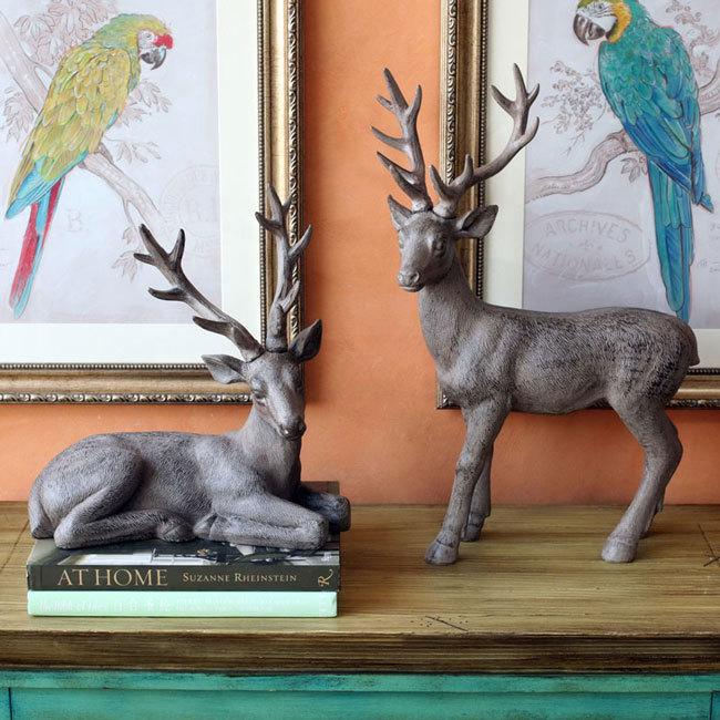 麋鹿居家裝飾