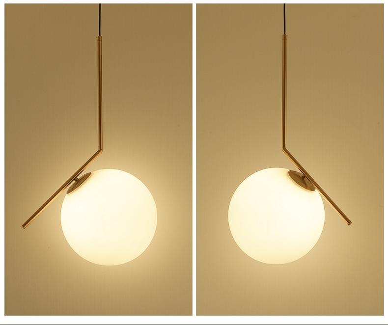 北歐球型燈具