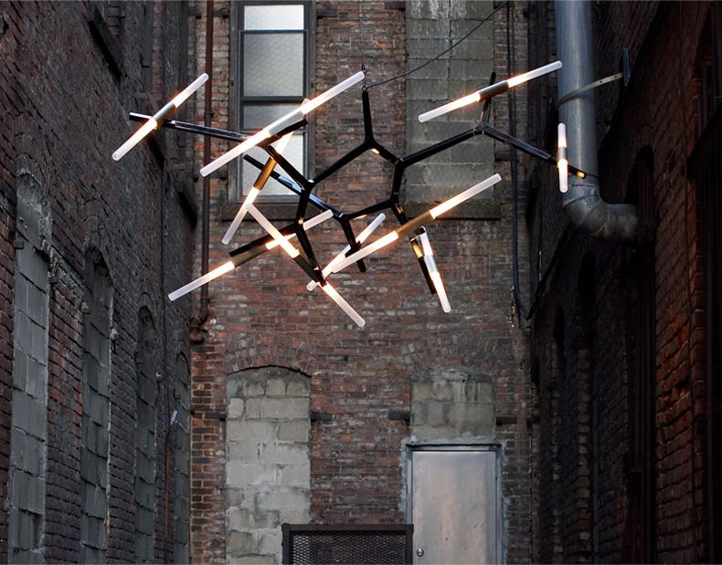 後現代簡約led吊燈