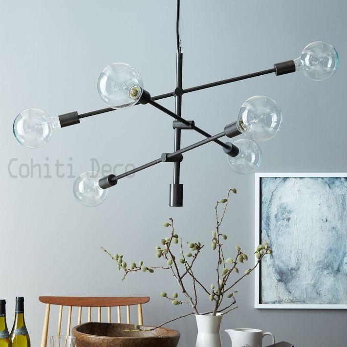 北歐現代線條吊燈