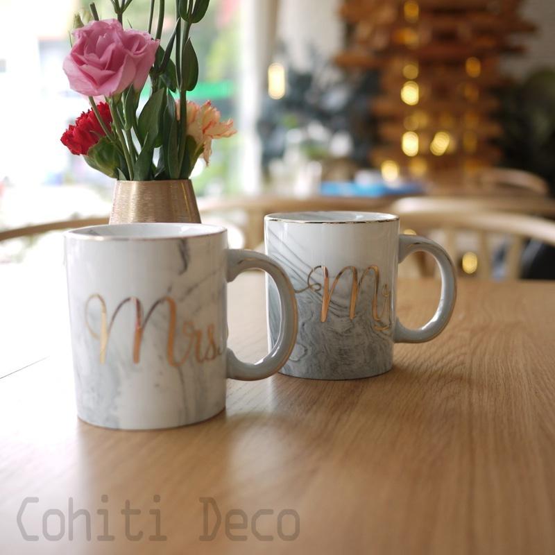 大理石紋馬克杯